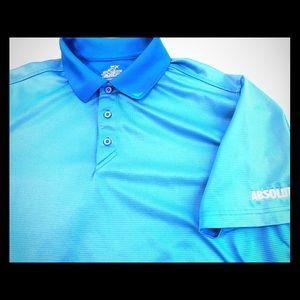 Absolut Golf Polo Baby Blue Men's Sz. L